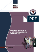 23 - Pafgo de Tributos y Contribuciones Laborales