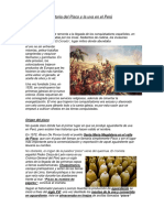 Historia Del Pisco y La Uva en El Perú