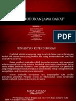 Kependudukkan Jawa Barat