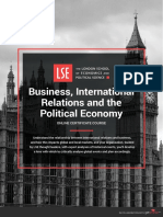 Lse Business International Relations the p