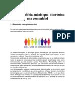 Trabajo Etica HOMOFOBIA