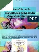 Isabel Rangel - ¿Cómo Debe Ser La Alimentación de La Madre Después de Dar a Luz?
