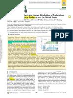 Pycke-Triclosan Metabolites (EST 2014)