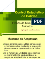 9.- Planes de Muestreo Por Atributos. Rev. Nov. 06