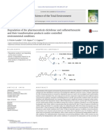 2. 2016.Degradation of the Pharmaceuticals Diclofenac and Sulfamethoxazole