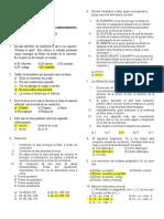 Primer Simulacro de Estudios Generales - Resultados
