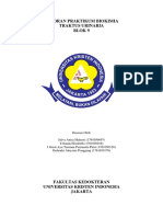 Laporan Praktikum Biokimia Blok9