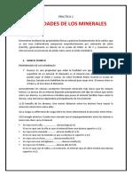 PRACTICA 2 Propiedades de Los Minerales