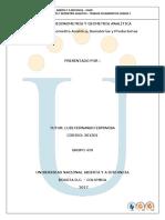 Tarea 5 Ejercicios de Geometría Analítica, Sumatorias y Productorias