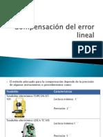 Error Lineal
