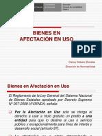 Afectacion en Uso