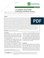 apsolutions  the challenges of pedigree dog health approaches to combating inherited disease