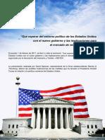 Qué Esperar Del Entorno Político de Los Estados Unidos Con El Nuevo Gobierno y Las Implicaciones Para El Mercado de Vestuario y Textiles