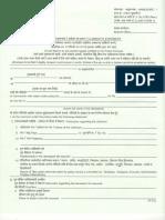 Form No 3783 Claim Form A