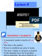 Lecture 8 Topic 13 Monopoly