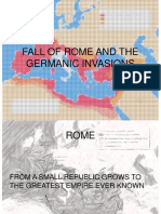 (1)Fall of Rome and the Germanic Invasions