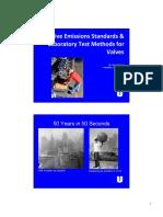 Fugitive Emissions Standards &  Laboratory Test Methods for  Valves