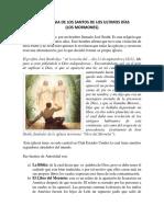 Doctrinas y Sectas Los Mormones