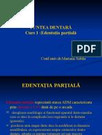 clasificari edentatie partiale