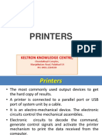 05 Types of Printers