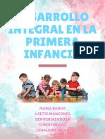 Desarrollo Del Niño en La Primera Infancia