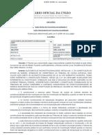Decisões - Decisões - Dou - Imprensa Nacional - 27.05.2019