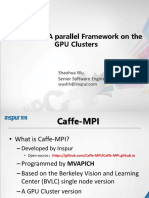 Caffe-MPI a Parallel Framework on the GPU Clusters