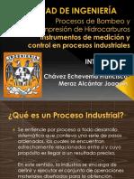 Instrumentos de Medicicón y Control en Procesos Industriales