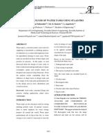 Analysis of Water Tanks