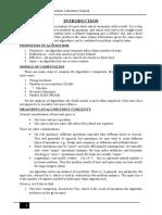 SJBIT(Design and Analysis of Algorithm lab Manual)