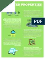 water properties poster