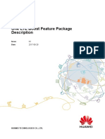 One LTE Boost Feature Package Description(ERAN12.1_02)