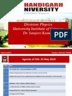 FOS MSC Physics May 2019