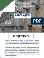Anclajes-Geotécnia