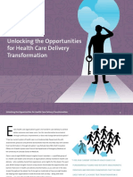 Unlocking the Opportunities for Health Care Delivery Transformation