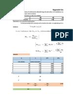 Coeficiente de Correlación # Clientes y Ventas Semanales 5
