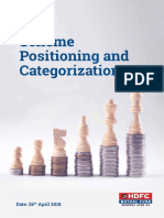 HDFC Mutual Fund Scheme Positioning and Categorization