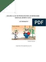 """""""Ley Monsanto en Guatemala"""""""