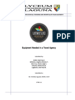 Travel Agency (Lakwatsero)