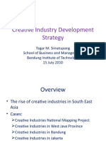 Creative Industry Development Strategy