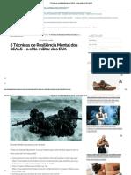 6 Técnicas de Resiliência Mental Dos SEALS - A Elite Militar Dos EUA _ MHM