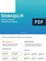 Business Proposal PowerPoint Templates | Business Proposal PPT Slide Designs | SlideUpLift