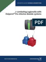 Guidelines for Combating Legionella En