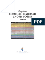 Roedy Blacks Complete Keyboard Chord Poster User Guide
