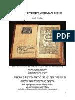 Martin Luthers German Bible Version 3.0