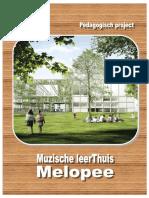 pedagogisch project muzische leerthuis melopee