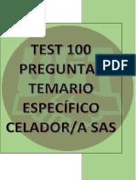 Test 100 Preguntas Temario Específico Celador-A Ope Sas