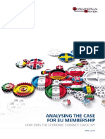 Analysing the Case for EU Membership How Does the Economic Evidence Stack Up