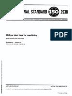 Hollow Bars(ISO2938)