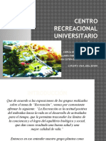 Centro Recreacional Universitario